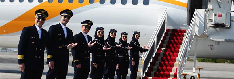 استخدام در شغل مهمانداری هواپیما