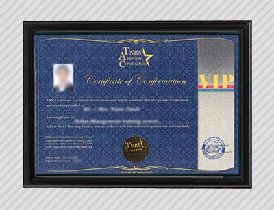گواهینامه TNRS VIP آمریکا