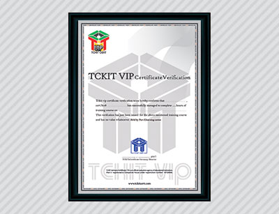 tckit vip certification germany inquiry