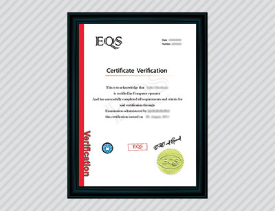eqs certification england inquiry