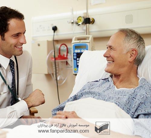 مدیریت رضایت بیمار