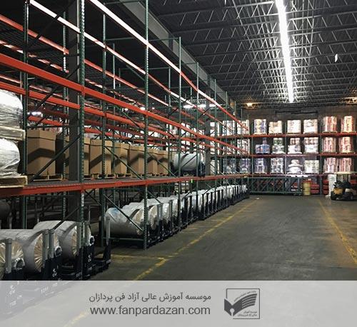 مدیریت انبارداری صنعتی
