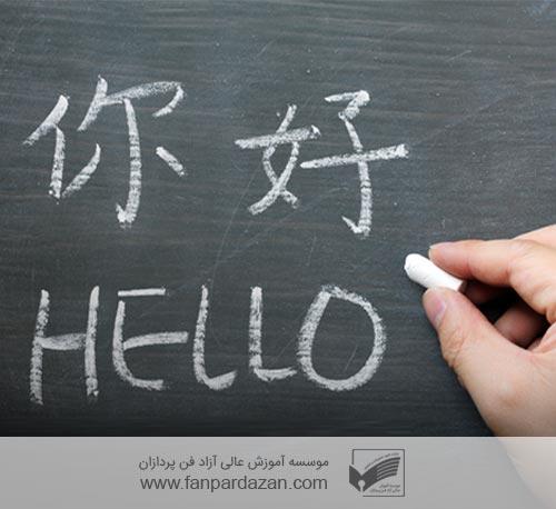 زبان چینی(ترمیک-فشرده)