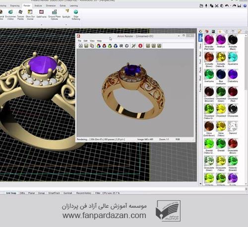 مدیریت کسب و کار طراحی طلا و جواهرات(mba)