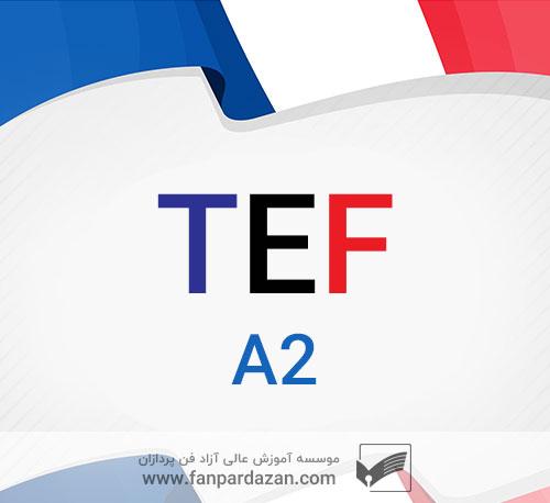 آمادگی آزمون TEF (سطح a2)