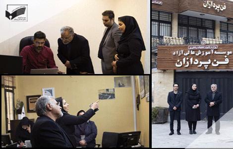 بازدید سید محسن سجاد مدیرکل دفتر امور اجتماعی و فرهنگی استانداری اصفهان